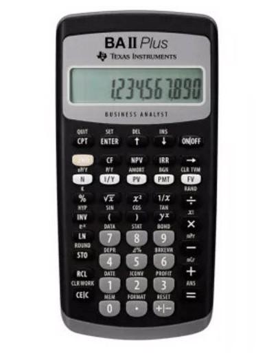 CFA考生为什么都选BA II Plus计算器?主要在于它的功能?